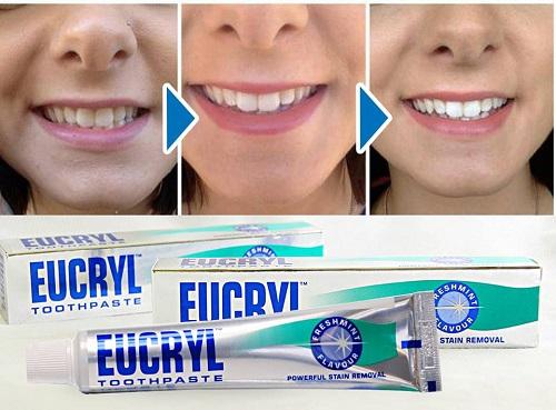 Cách sử dụng bột tẩy trắng răng eucryl hiệu quả nhất 2